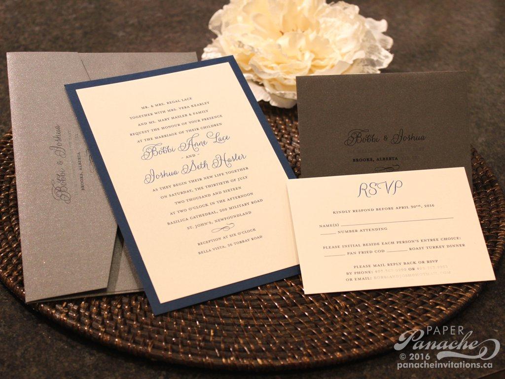 Modern Wedding Invitations Paper Panache Invitations Design