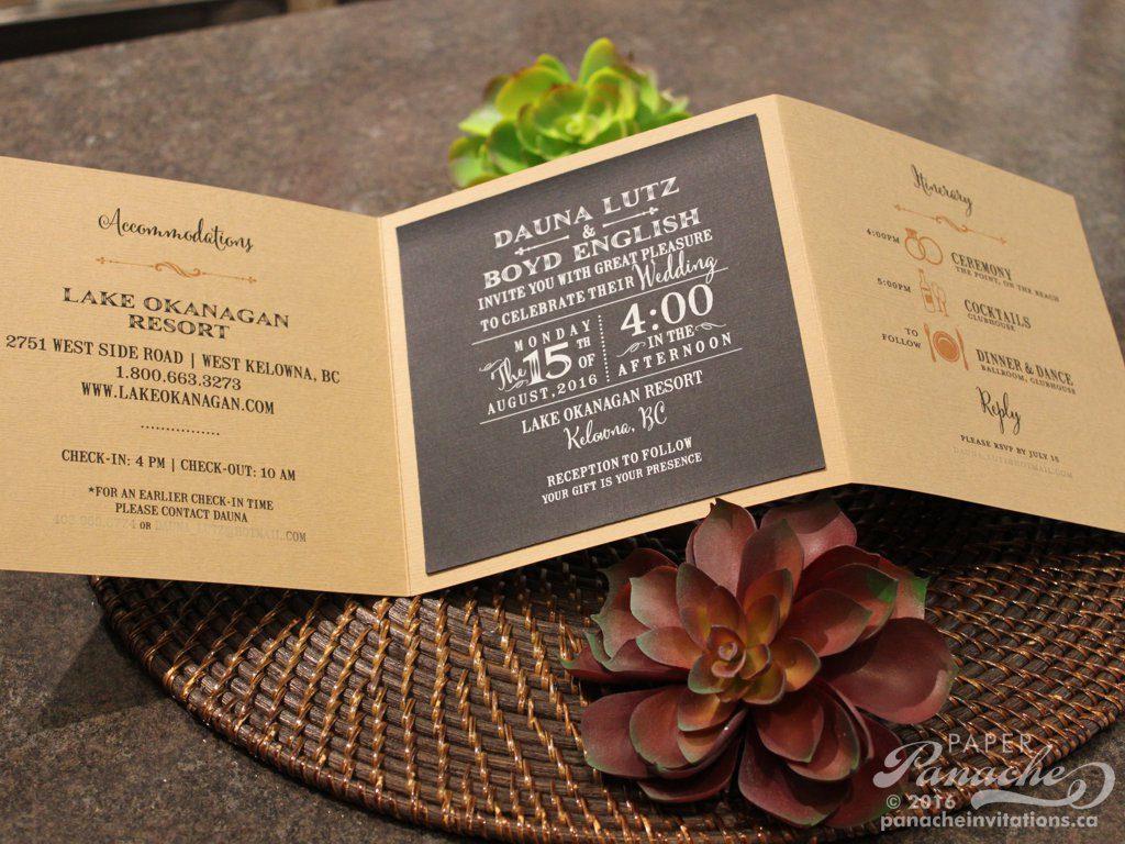 Innovative Wedding Invitations: Modern Wedding Invitations