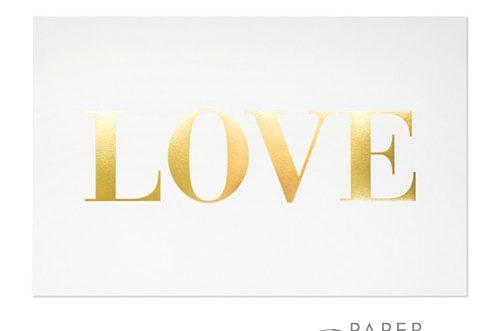 Gold Foil v s  Gold Metallic Ink - Paper Panache Invitations & Design