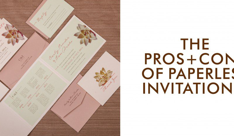 The Pros and Cons of Paperless Invitations