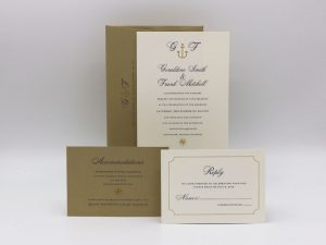 Anchor Wedding Invitation Sample Set