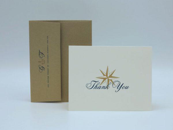 Anchor Thank You Card