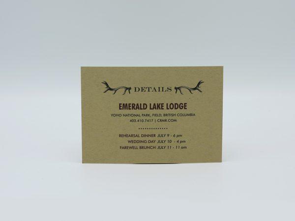 Antlers Details Card