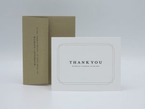 Double Frame Thank You Card