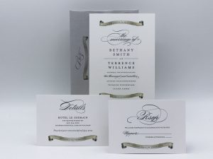 Scroll Invitation Sample Set