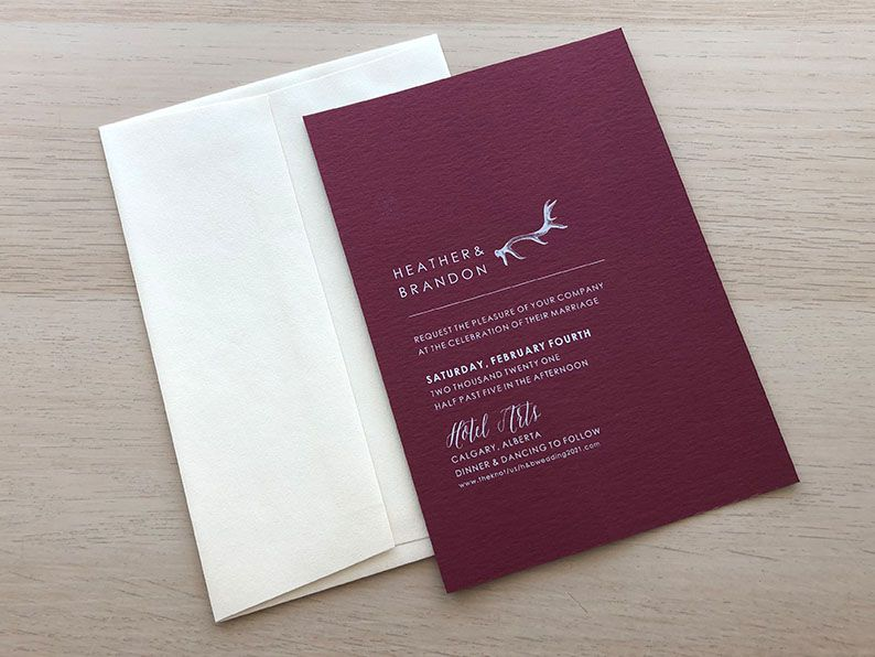 Wedding Invitations - Paper Panache Invitations & Design